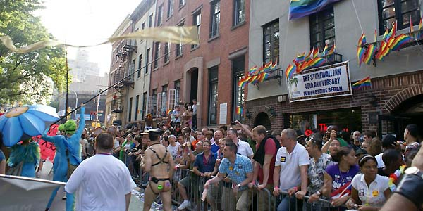 Stonewall crowd - photo by Joseph R. Saporito