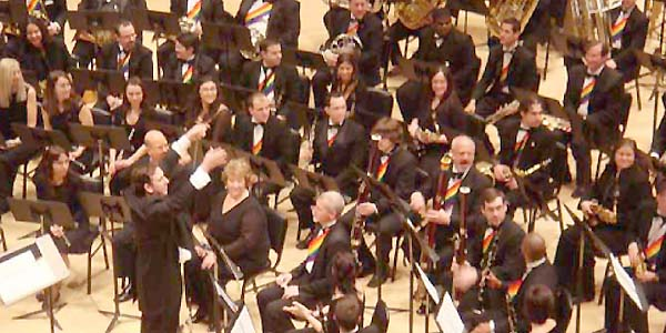Lesbian & Gay Big Apple Corps Symphonic Band - photo provided by Big Apple ...