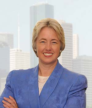 Houston Mayor Annise Parker, photo from her Facebook page